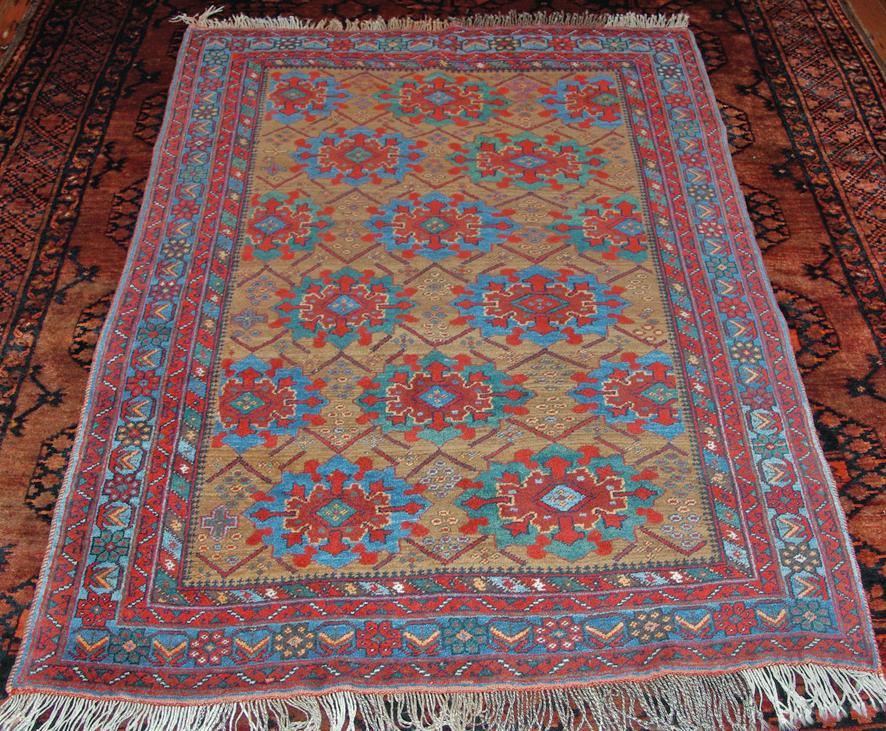 Afshar Kuhi rug web draft