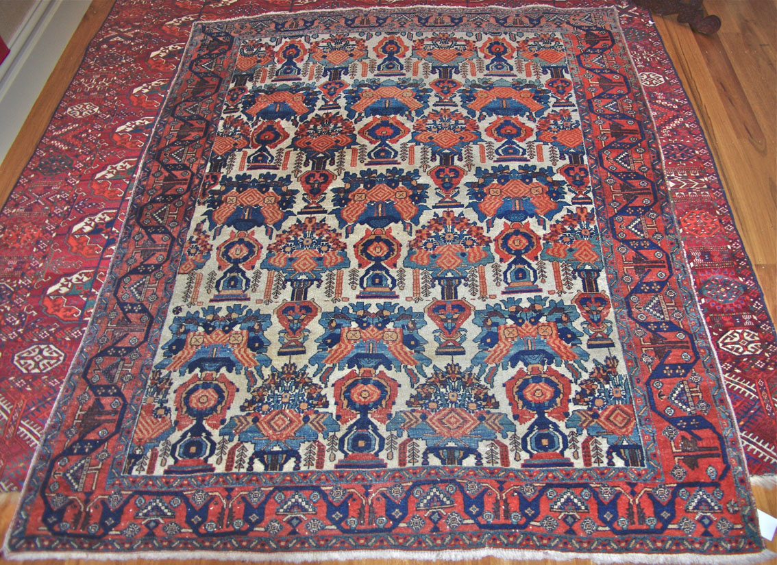 Afshar rug 187 x 150 cm south Persia