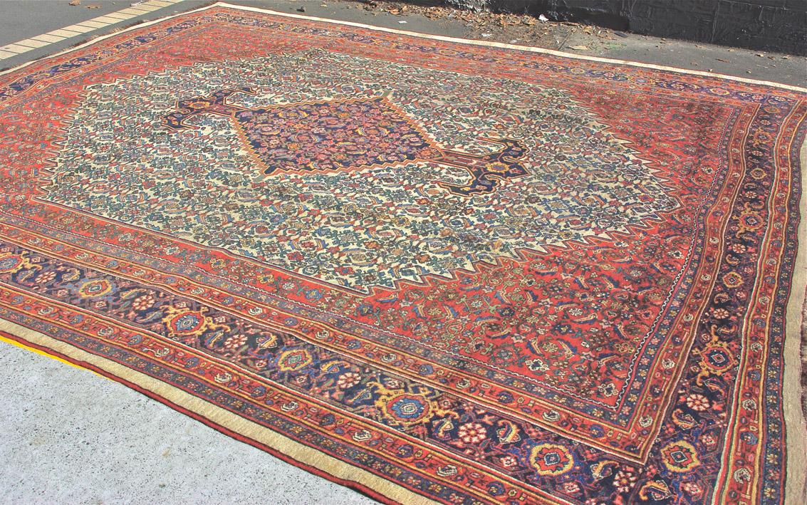 Bidjar carpet 380 x 336 cm webmain
