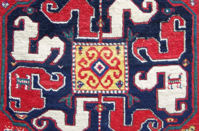 Cloud band Kazak rug