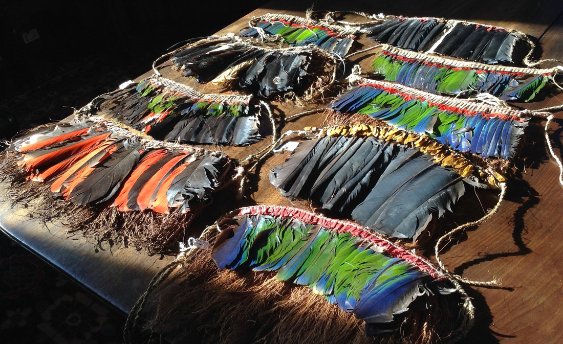 Eastern Highlands headdresses PNG