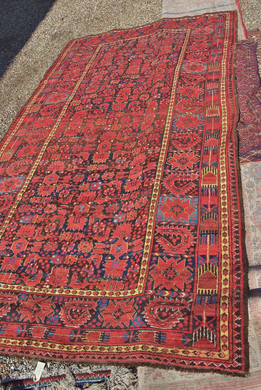 Ersari Beshir carpet 301 x 167 cm