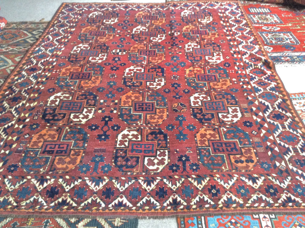Ersari main tent carpet 262 x 210cm