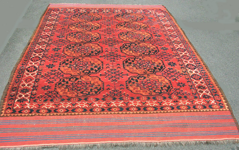 Ersari main tent carpet ex-Chia web draft