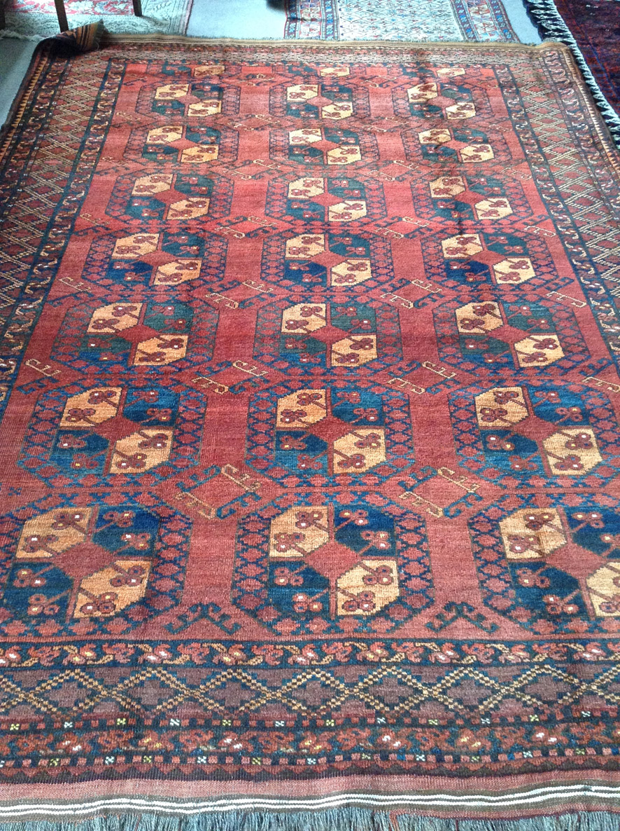 Ersari tent main carpet 300 x 212cm