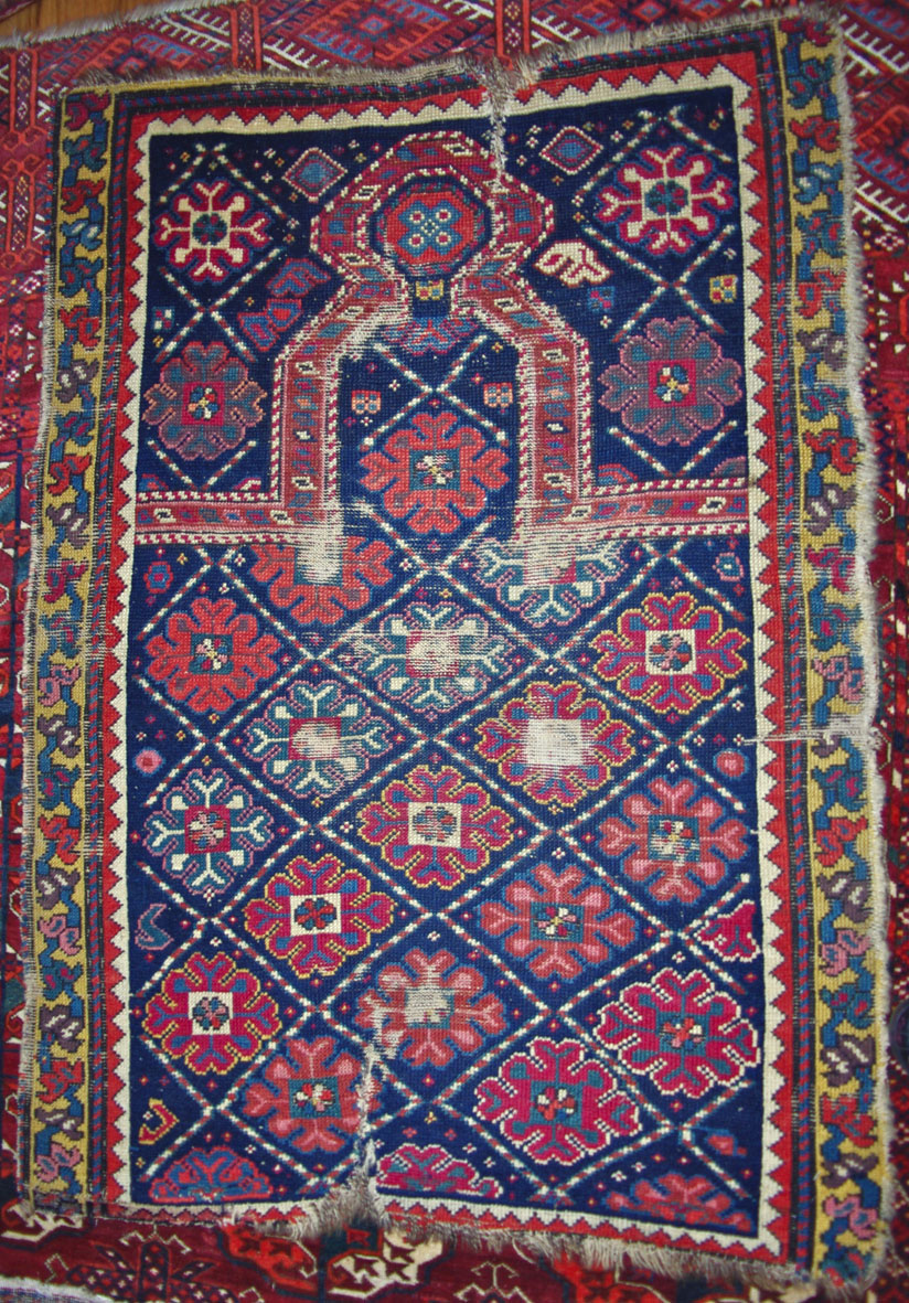 Karabagh prayer rug web draft
