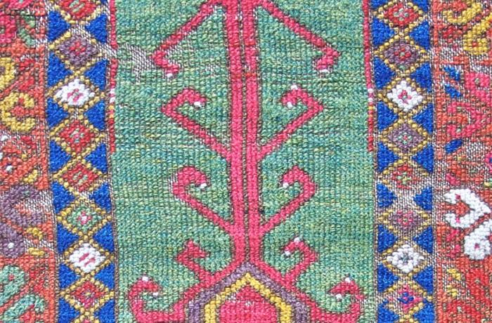 Konya prayer rug fragment