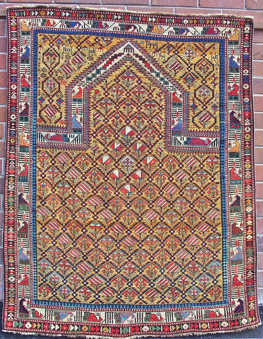 Shirvan Marasali prayer rug 160 x 124cm