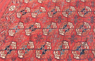 Tekke tent main carpet