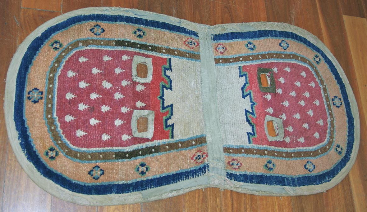 Tibetan saddle cover  125 x 66 cm web draft
