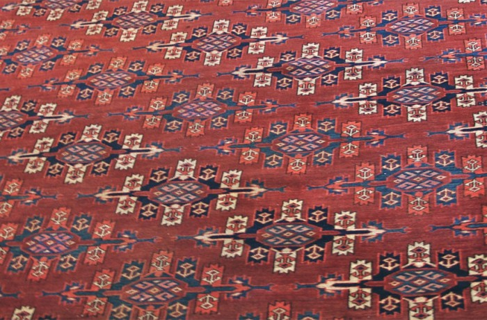 Yomud tent main carpet