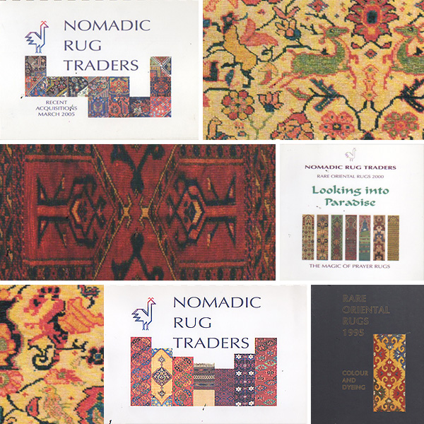 Catalogues antique rugs, Nomadic Rug Tarders, Sydney