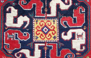Cloud band Kazak rug