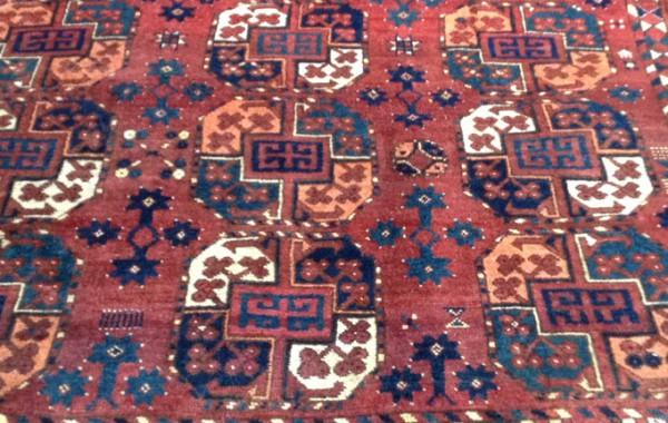 Ersari tent main carpet