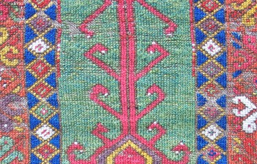 Konya prayer rug fragment