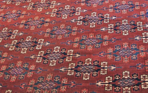 Yomud tent main carpet